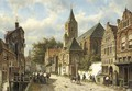 Dutch town in Summer - Willem Koekkoek