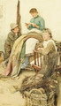 An Interesting Story - Walter Langley