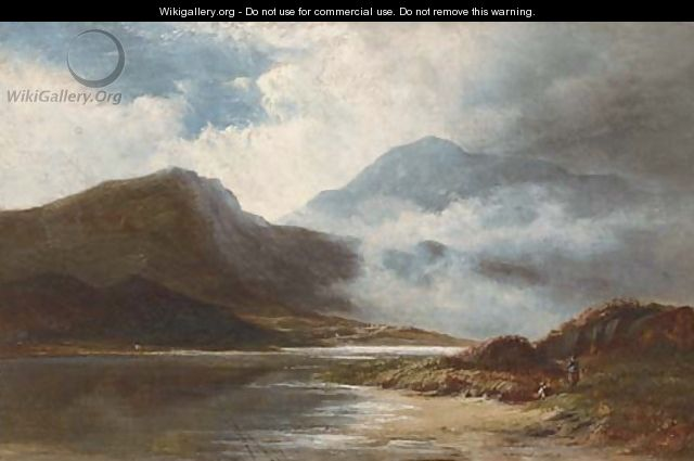 A mountain mist, North Wales - Walter Williams