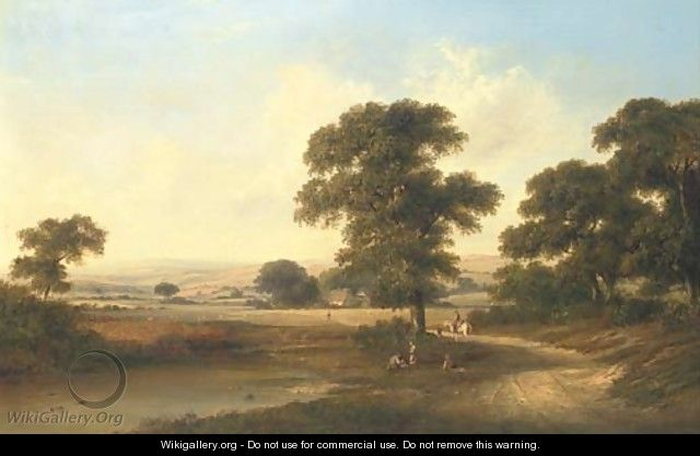 A lowland landscape - Walter Williams