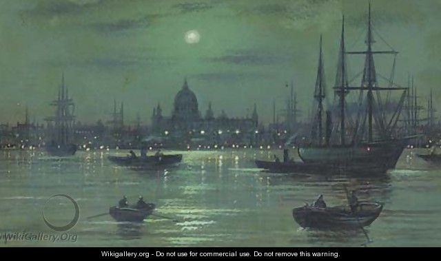 On the Thames - Wilfred Jenkins