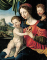 The Virgin and Child with the Infant Saint John the Baptist - Vincent Sellaer