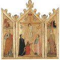 The Crucifixion with the Magdalen at the Foot of the Cross - Giotto Di Bondone
