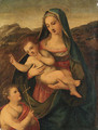 The Madonna and Child with the infant Saint John the Baptist - Tuscan School
