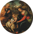 The Holy Family - Tuscan School