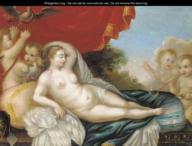 Click here to download image & Venus reclining with putti - Venetian School - WikiGallery.org ... islam-shia.org