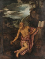 Saint Jerome in the Wilderness - Venetian School