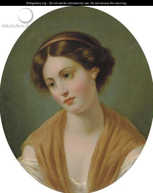 Miss Fanny Rundle - Thomas Sully