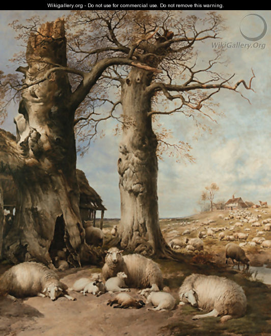 The Flock Masters Hope The Spring Time of the Year - Thomas Sidney Cooper