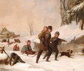 Playing in the Snow - Tompkins Harrison Matteson