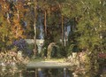 The garden pool - Thomas E. Mostyn