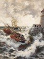 After a stormy night, Ramsgate - Thomas Rose Miles
