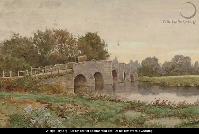 Crossing the stone bridge - Thomas Nicholson Tyndale