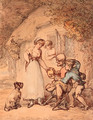 Charity - Thomas Rowlandson