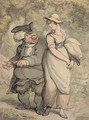 The parson and the maid - Thomas Rowlandson