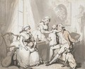 The Happy Family or The Married Man - Thomas Rowlandson