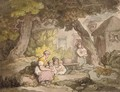 The family gathering - Thomas Rowlandson