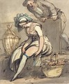 The Fairing or trying on the New Garters - Thomas Rowlandson
