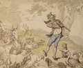 The animal chorus - Thomas Rowlandson