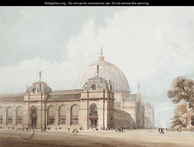 The International Exhibition Building, South Kensington, 1862 - Thomas Shotter Boys