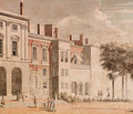 The garden front of Old Somerset House, London - Thomas Sandby