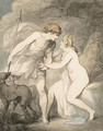 Venus and Adonis - Thomas Rowlandson