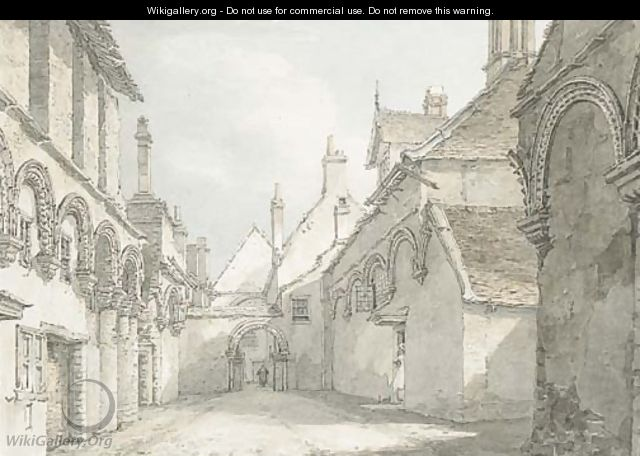 The infirmary chapel, Ely, looking East - Thomas Hearne