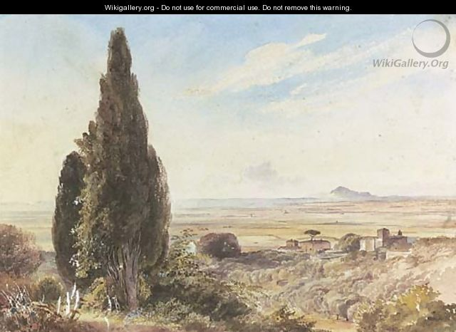 The Roman campagna - Thomas Hartley Cromek