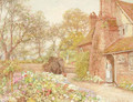 The cottage garden, Godalming - Thomas H. Hunn