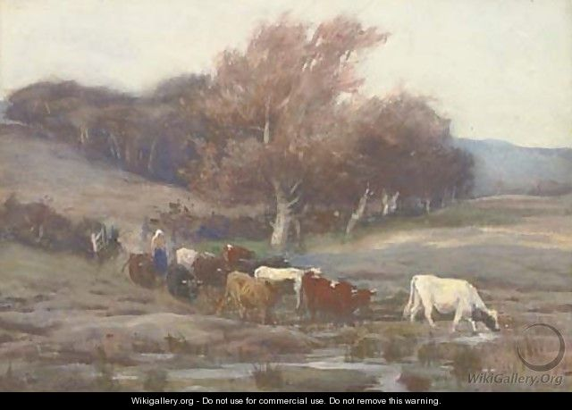 Herding the cattle to new pastures - Thomas Hunt