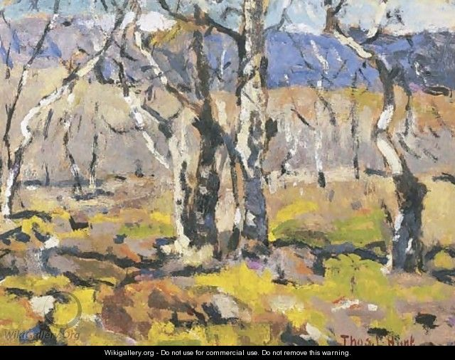 Sierra Madre Landscape - Thomas Hunt