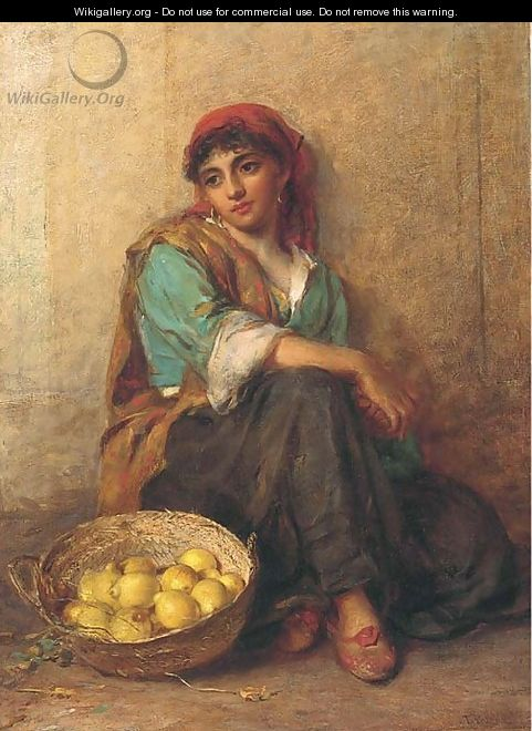 The lemon seller - Thomas Kent Pelham