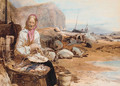 The old fisherwoman - Thomas Miles Richardson, Jnr.