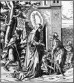 St. Iduberge helping lepers - Hans, the elder Burgkmair