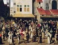 Procession of the Holy League in 1590 - Francois Bunel