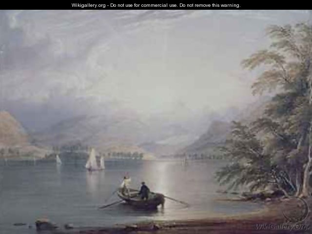 Scene in the English Lake District - C. F. Buckley