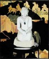 The Buddha Black and Gold - Francis Campbell Boileau Cadell