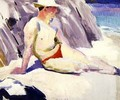 Sunbather on the Beach Iona - Francis Campbell Boileau Cadell