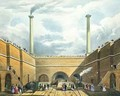 Entrance of the Railway at Edge Hill, Liverpool 2 - Thomas Talbot Bury