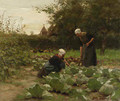 Tending the Garden - Willy Martens