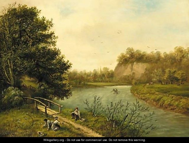 By the river - William Richardson
