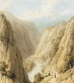 The head of Dovedale, Derbyshire - William Westall