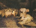 The shearer - Wright Barker