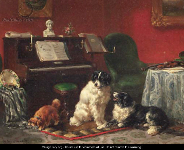 The naughty spaniel - Wouterus Verschuur