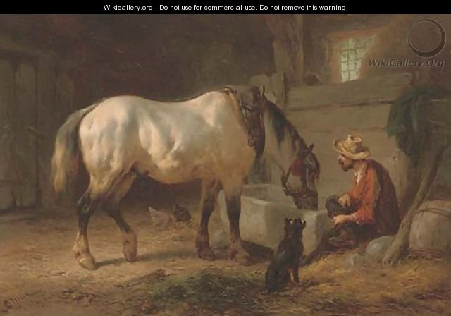 Refreshment at the end of the day - Wouterus Verschuur