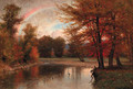 The Rainbow, Autumn, Catskills - Thomas Worthington Whittredge