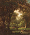 Picnic Under the Trees - Thomas Worthington Whittredge