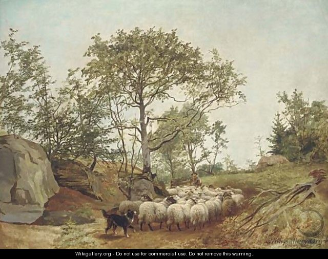Counting the sheep - William Watson
