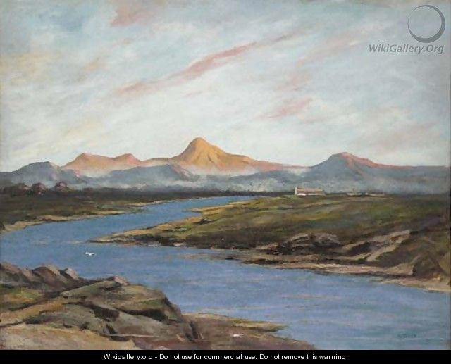 Dawn, Ben Vorlich from Strathearn - William Renison