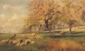 Springtime In The Orchard - William Sidney Cooper